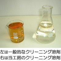 クリーニング溶剤